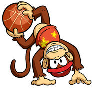 MSB Artwork Diddy Kong