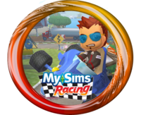 MySims Racing Chaz Button