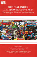 Avengers, Thor &amp; Captain America Official Index to the Marvel Universe Vol 1 6