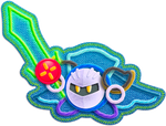 Meta Knight Artwork (KEY)