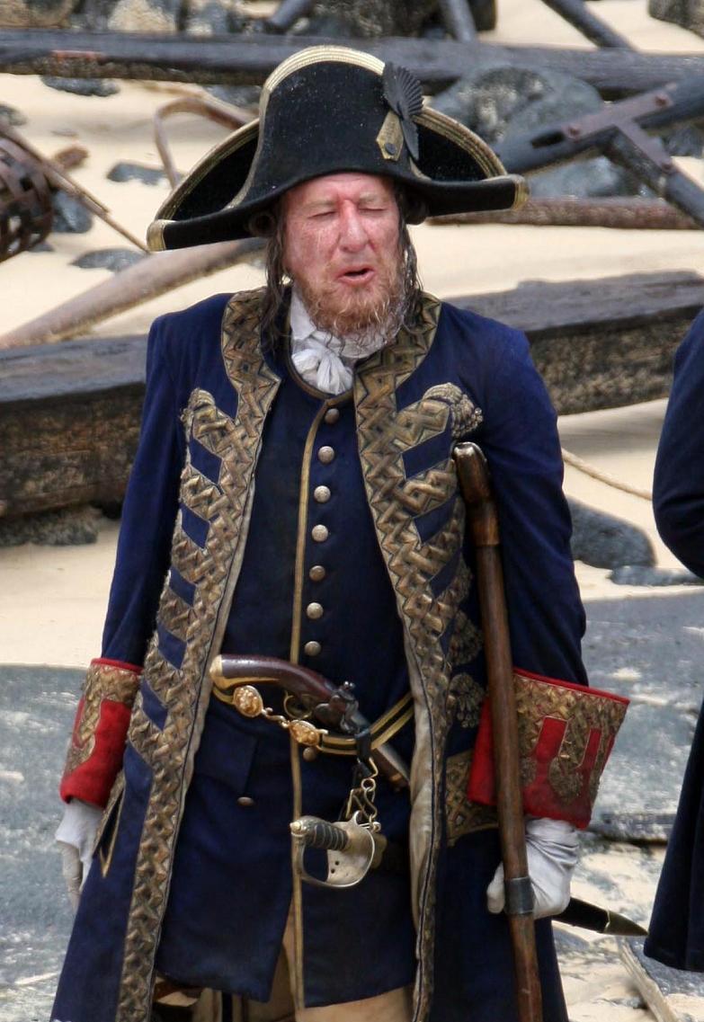 Hector barbossa on stranger tides