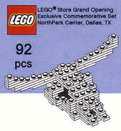 Dallas LEGO Store Grand Opening Set