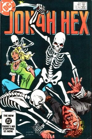 Cover for Jonah Hex #84