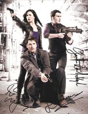 Torchwood signed photo
