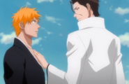 Aizen Ichigo too close