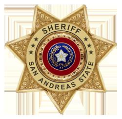 San Andreas Sheriff Department Format Sasdlogo