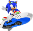 Sonic-Free-Riders-Sonic-artwork