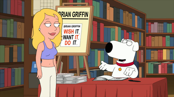 Family Guy Season 9 Episode 6 Brian Writes a Bestseller