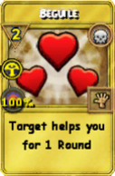 Beguile Treasure Card