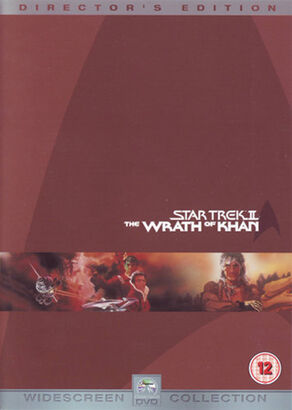 Star Trek II The Wrath of Khan (Director's Edition) DVD-Region 2
