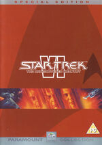 Star Trek VI The Undiscovered Country (Special Edition) DVD-Region 2