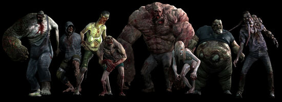 All eight of the Special infected