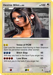 Desiree Miles Pokemon card