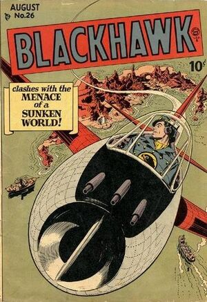 Cover for Blackhawk #26