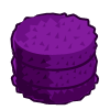 Purple Round Hay-icon