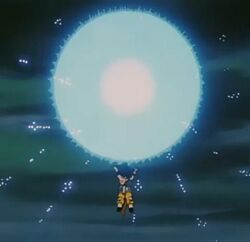 Goku universal spirit bomb