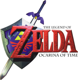 The Legend of Zelda - Ocarina of Time (logo)