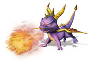 Spyro fire
