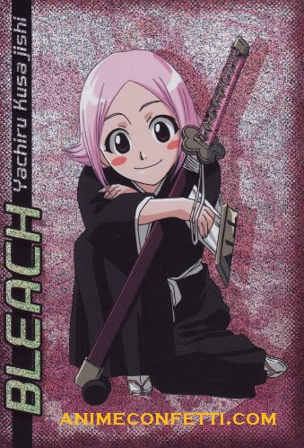 bleach yachiru new look  Yachiru Kusajishi New Look