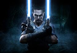 Galen Marek in Star Wars- The Force Unleashed II