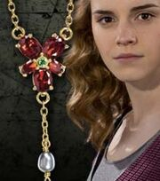 Hermione&#39;s Red Crystal necklace