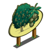 White Walnut Tree Mastery Sign-icon