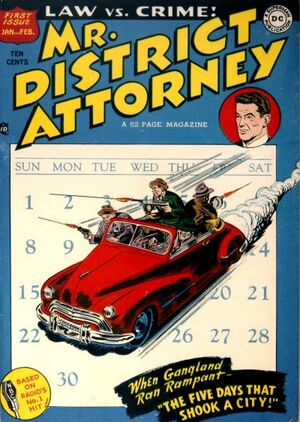 Cover for Mr. District Attorney #1