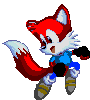 Temporal the Fox Sonic 3 Pixal Art