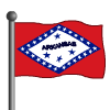 Arkansas Flag-icon