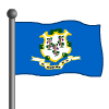 Connecticut Flag-icon