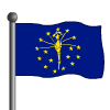 Indiana Flag-icon