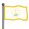 Rhode Island Flag-icon