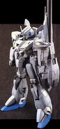 Model Kit Zplus C1 Mobilesuit Mode Front View