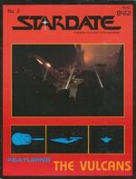 Stardate volume 1 issue 2 cover