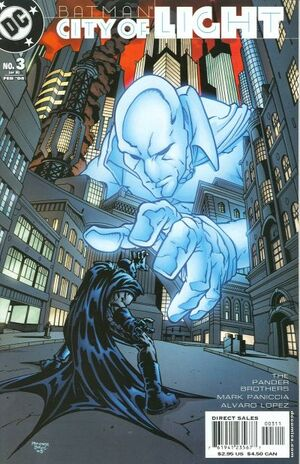 Cover for Batman: City of Light #3