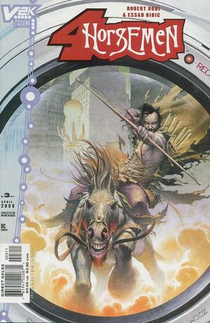 Cover for Four Horsemen #3