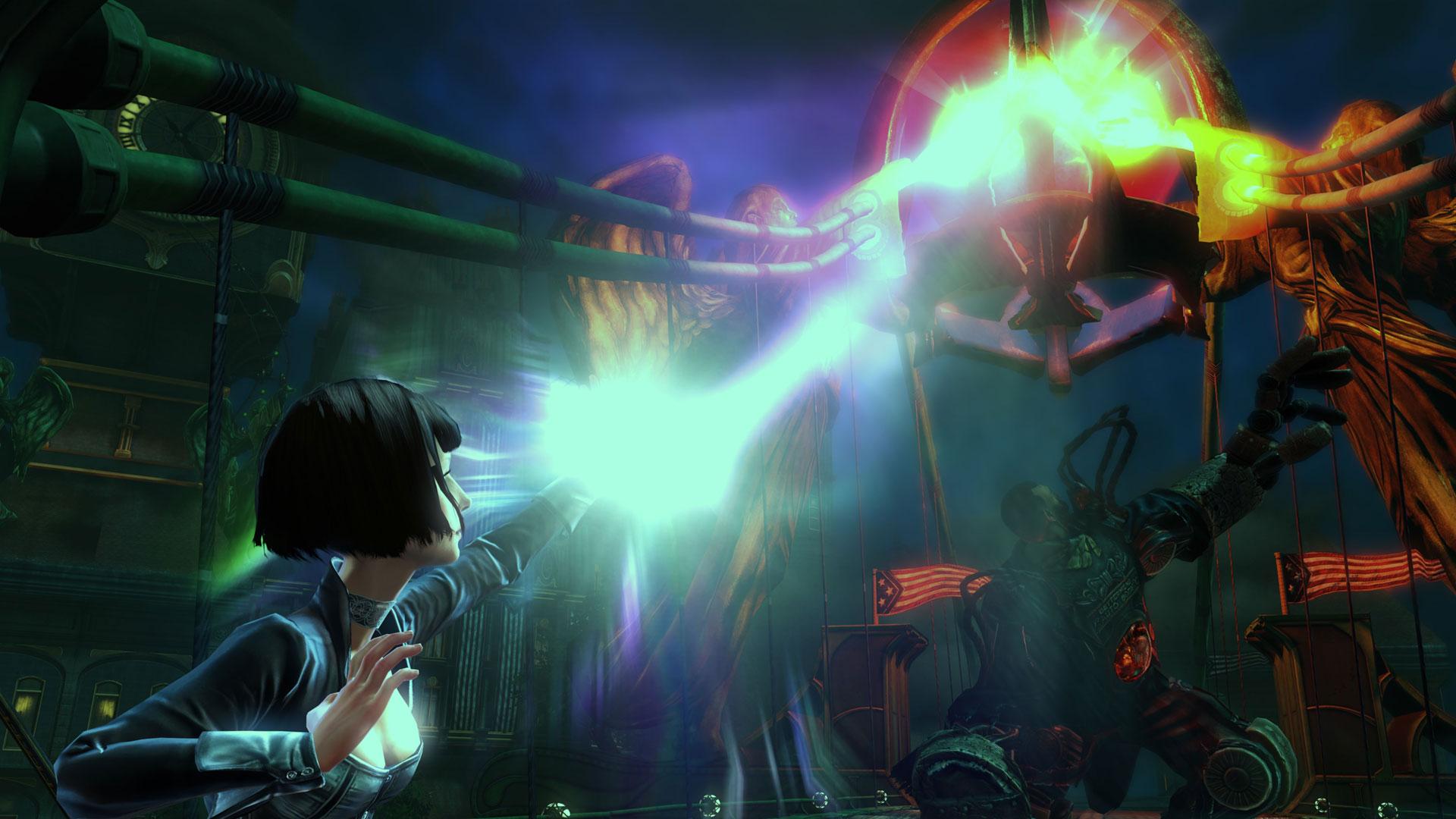 Resultado de imagen de Bioshock Infinite lagrimas elizabeth