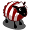 Candy Cane Sheep-icon