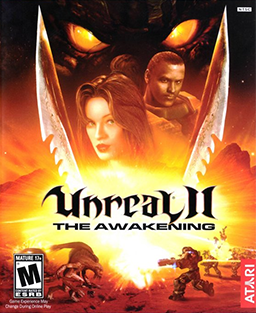 Unreal II-The Awakening Coverart