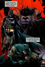 the three ghosts of batman