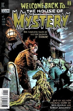 Cover for Welcome Back to the House of Mystery #1