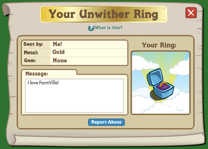 File-Your Unwither Ring