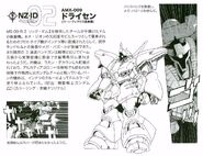 AMX-009 Dreissen Specs and Design