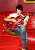 Darren Criss red