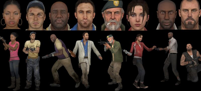 Left 4 Dead Francis and Nick - Bing images