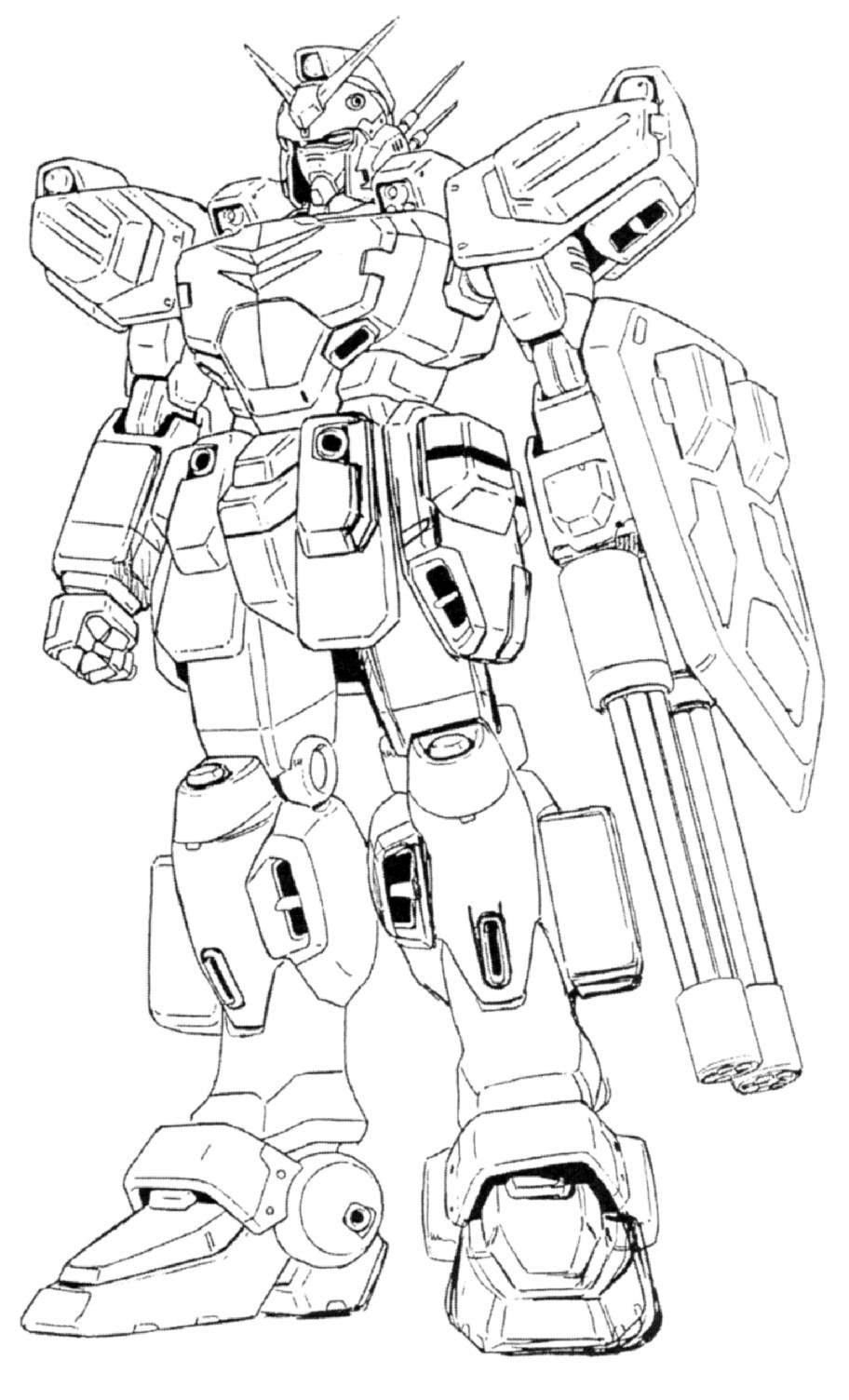 Sd gundam free coloring pages for Gundam wing coloring pages
