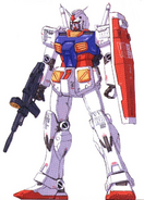 RX-78 GFF front