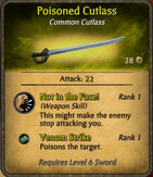 Poisoned Cutlass 2010-12-06