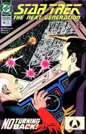 Cover for Star Trek: The Next Generation #48
