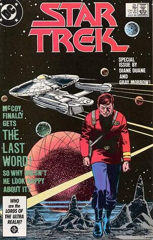 Cover for Star Trek #28